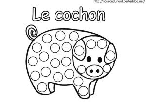 cochon-a-gommettes
